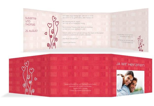 Hochzeit Einladung Liebestraum