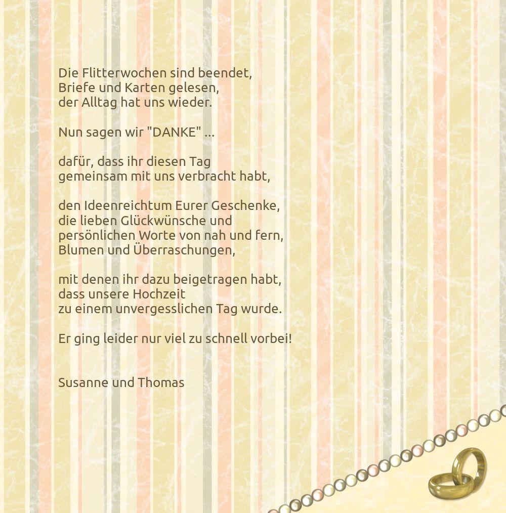 Ansicht 5 - Hochzeit Dankeskarte Bund für's Leben