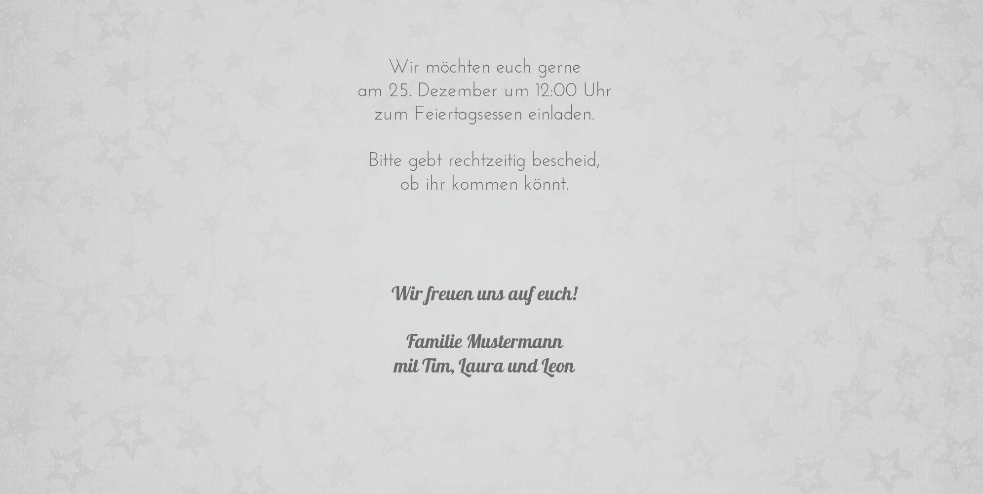 Ansicht 5 - Einladung Trio