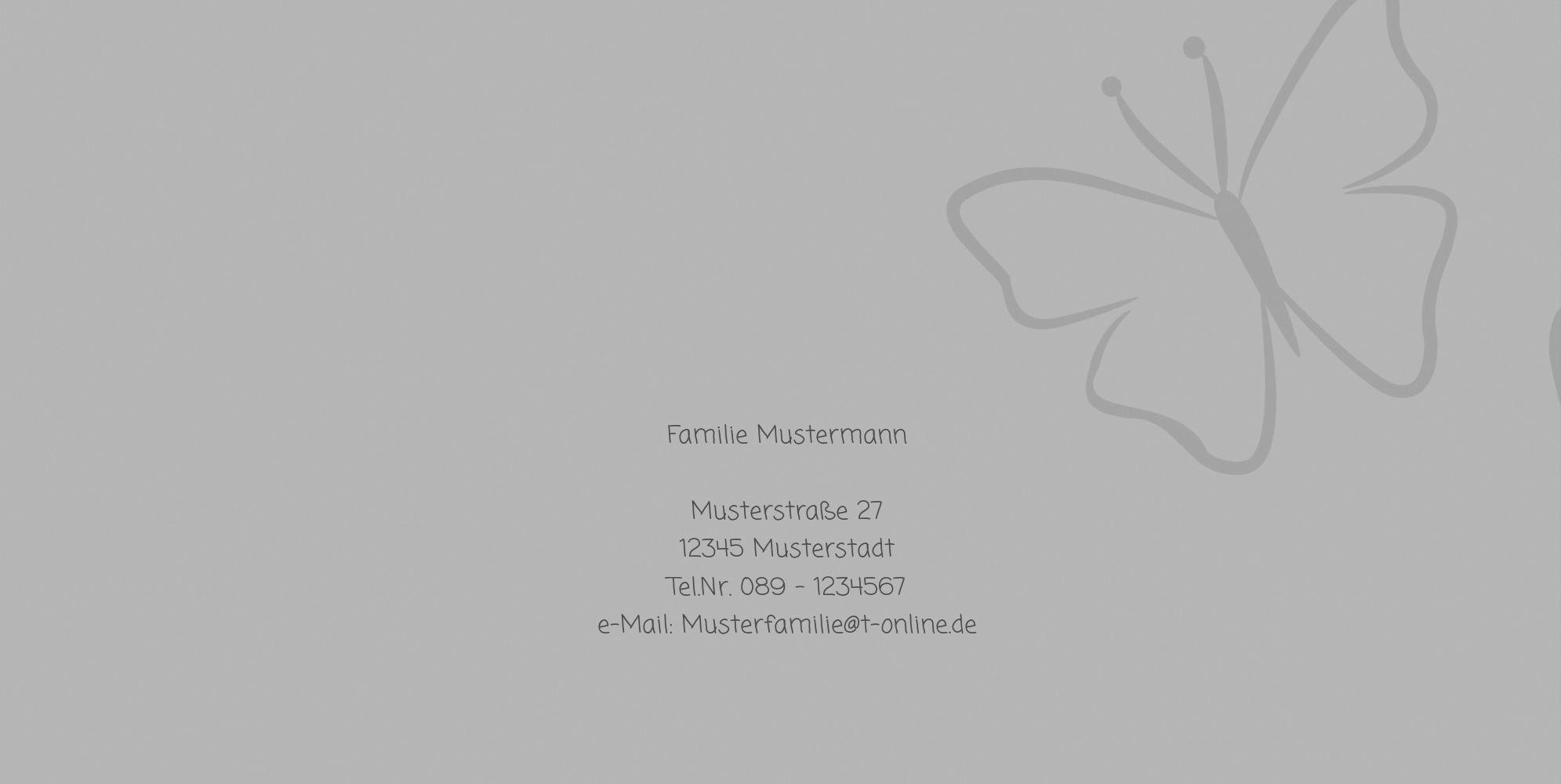 Ansicht 2 - Firmkarte Butterfly 2