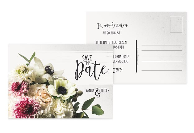 Save-the-Date Bouquet
