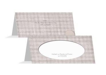 Hochzeit Tischkarte wedding harmony