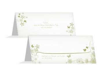 Hochzeit Tischkarte Liebeserfüllung