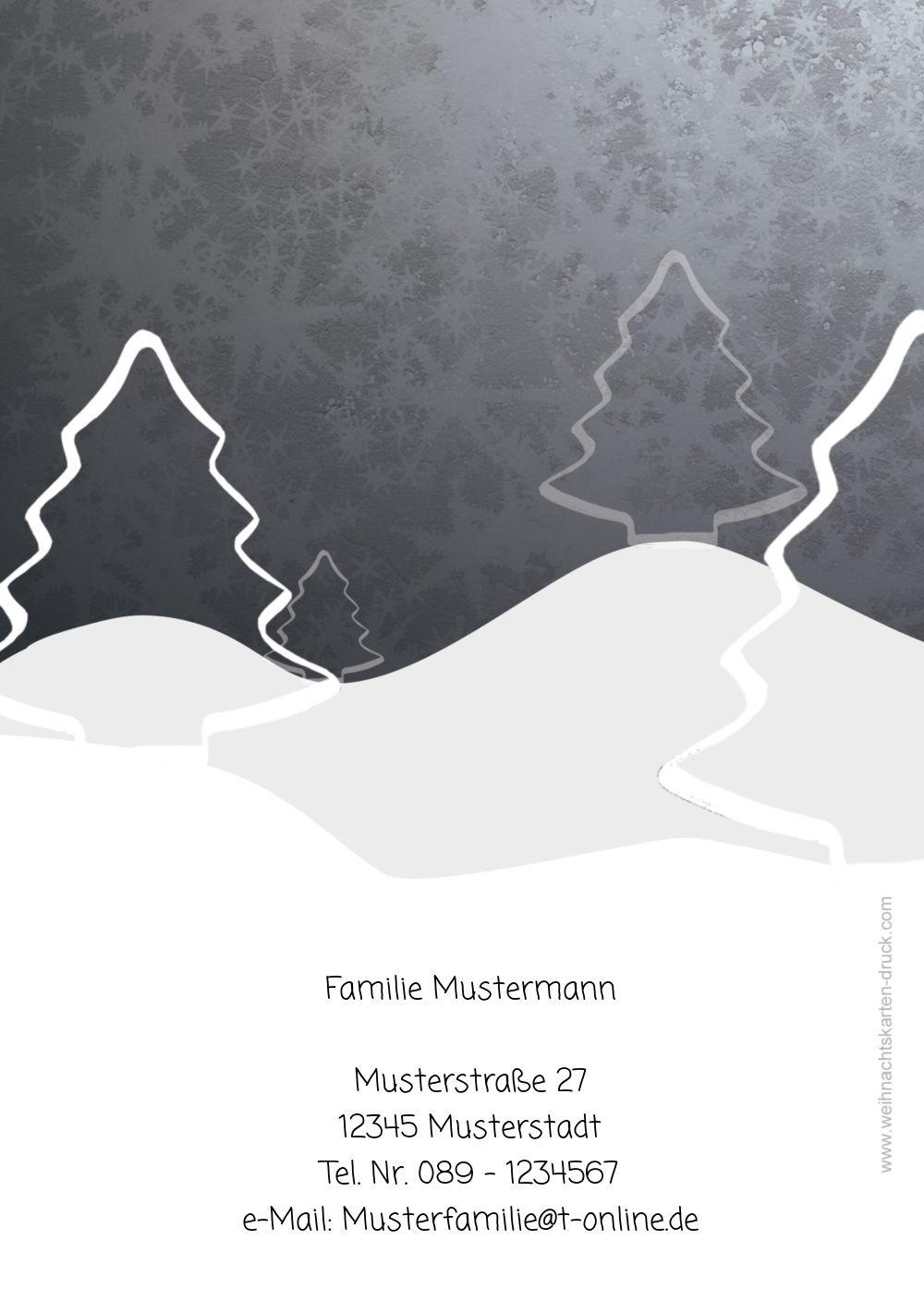 Ansicht 2 - Grußkarte Knopfmännchen