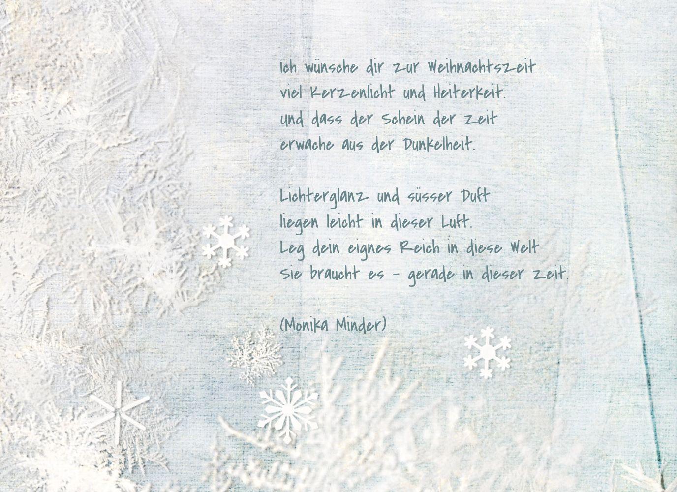 Ansicht 4 - Grußkarte Schneehütte