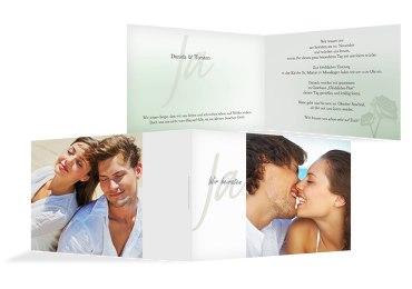 Hochzeit Einladung 3 Vermählung