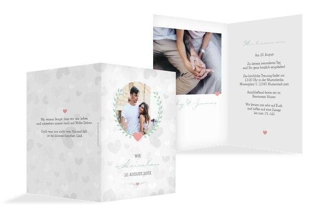 Hochzeit Einladung Zarte Ranke