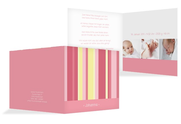 Babykarte 3Bilder