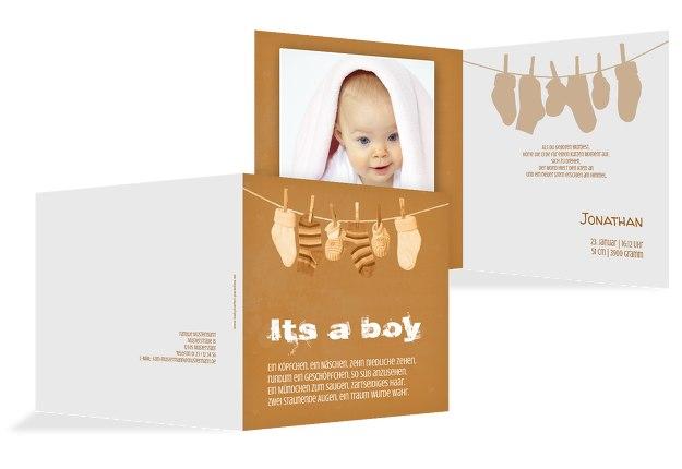 Babykarte It's a boy