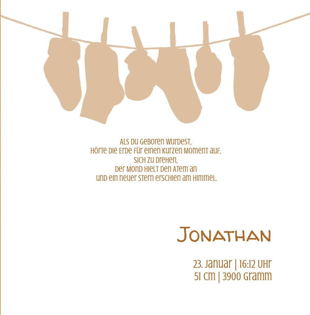 Ansicht 5 - Babykarte It's a boy