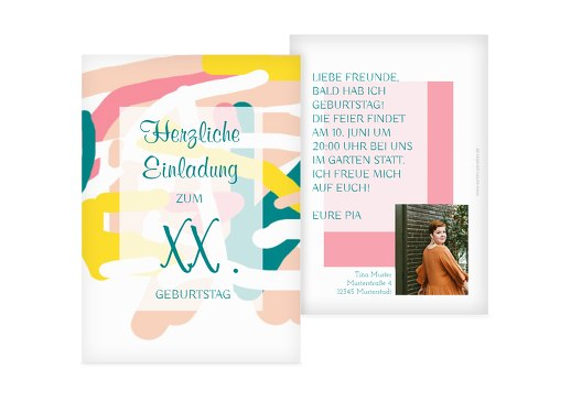 einladungskarten zum 65. geburtstag | karten-paradies.de