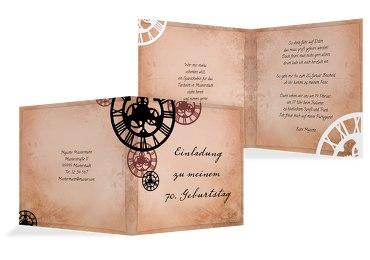Einladungskarten Zum 70 Geburtstag Karten Paradies De