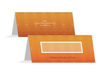 Hochzeit Tischkarte Eheversprechen