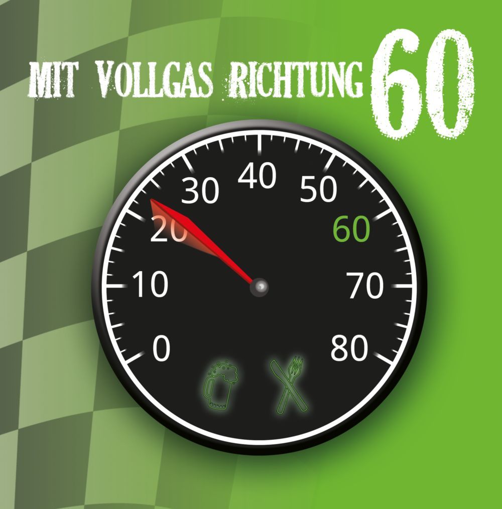 Ansicht 3 - Geburtstagseinladung Vollgas 60