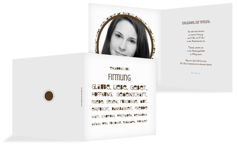 Firmkarte Spruchkreis