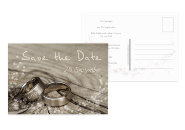 Save-the-Date Eheringe