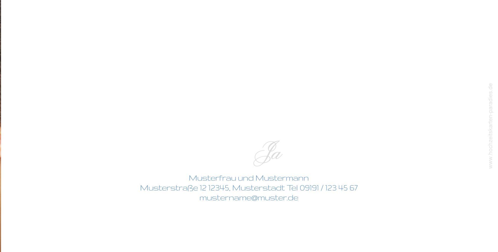 Ansicht 3 - Hochzeit Einladung Sagja