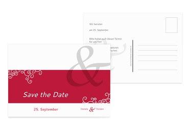 Save-the-Date Band der Liebe