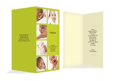 Babykarte Album