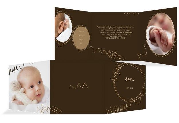 Babykarte Naht