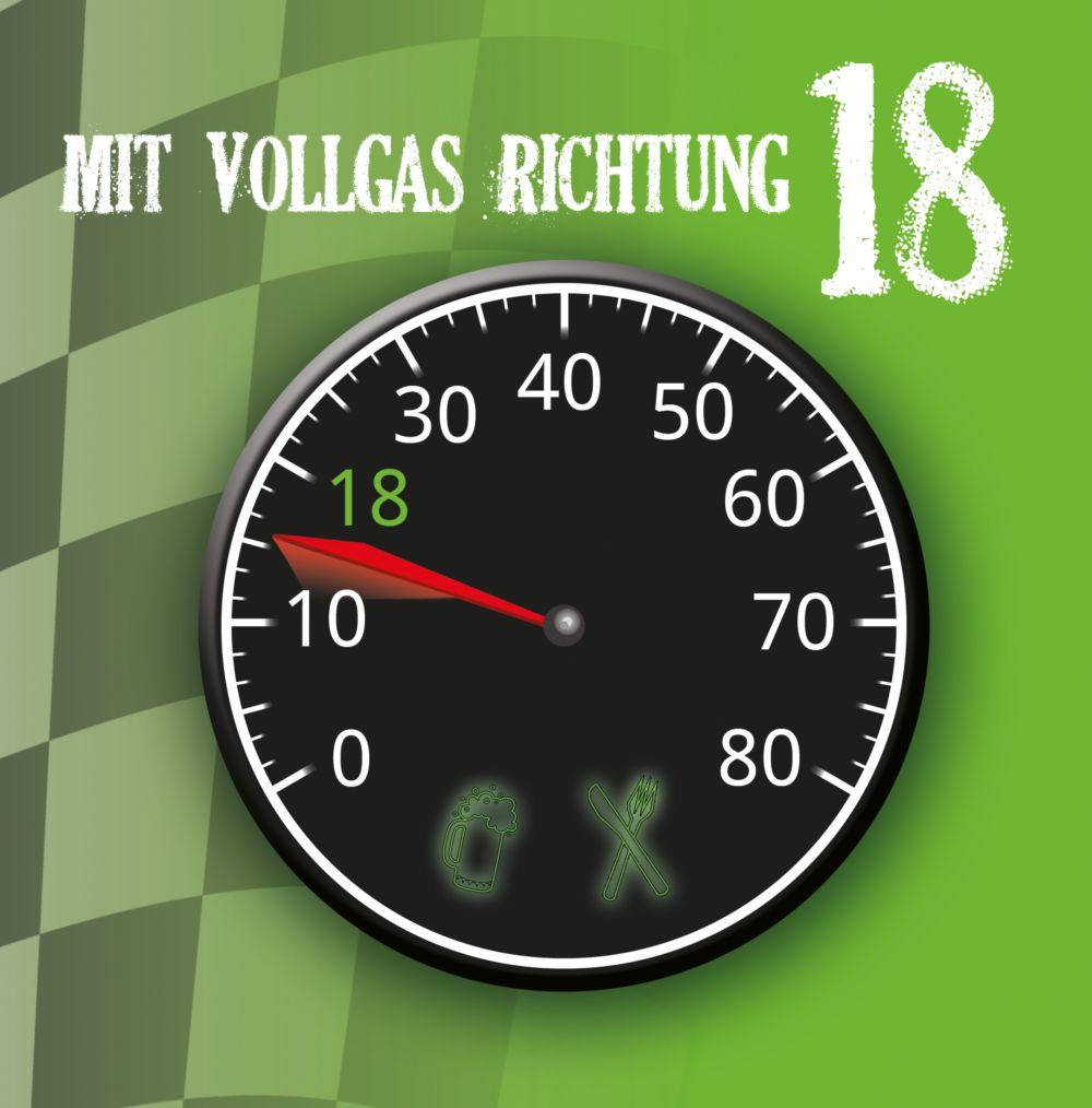 Ansicht 3 - Geburtstagseinladung Vollgas 18