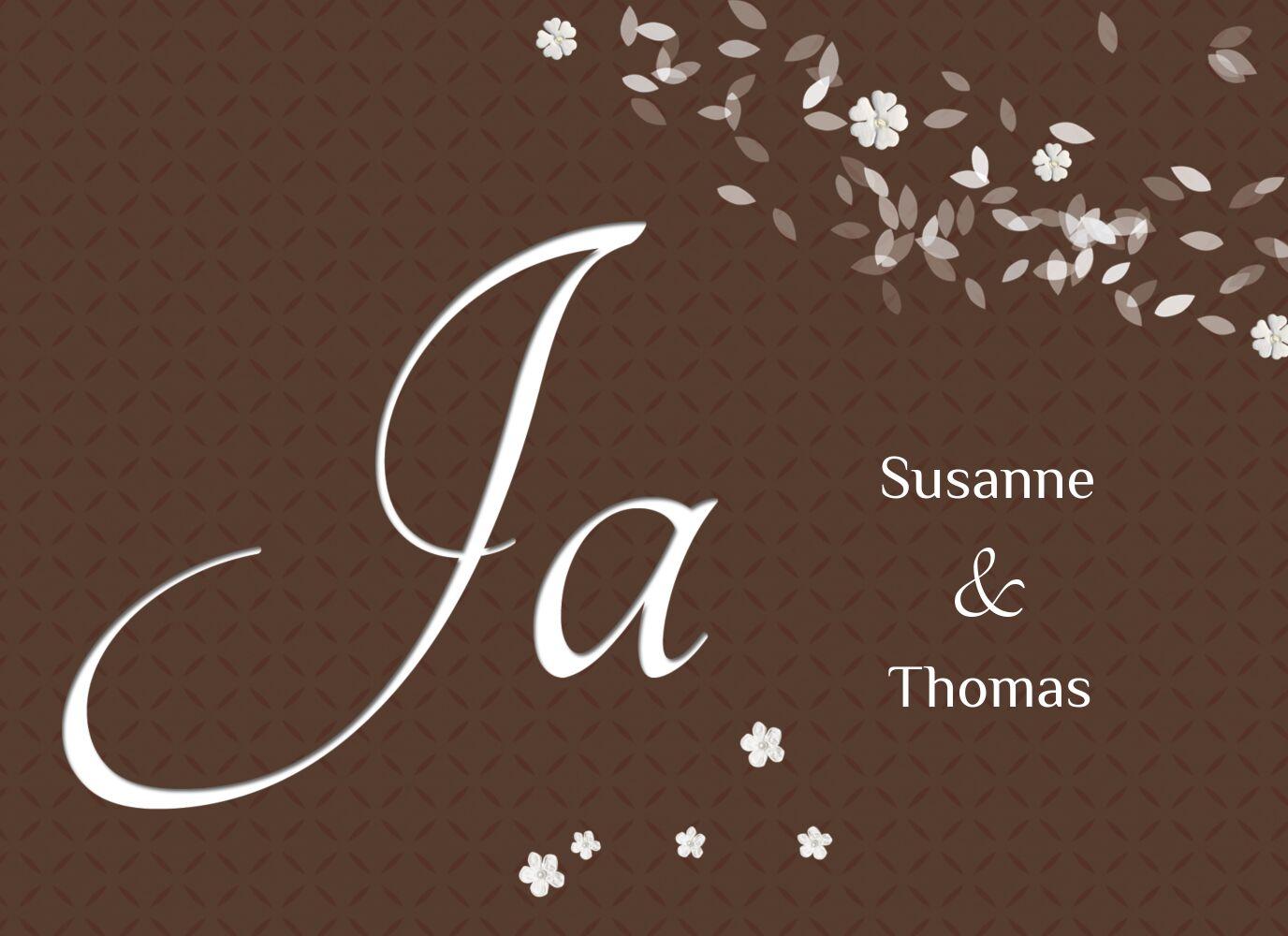 Ansicht 3 - Hochzeit Einladung romantic flower