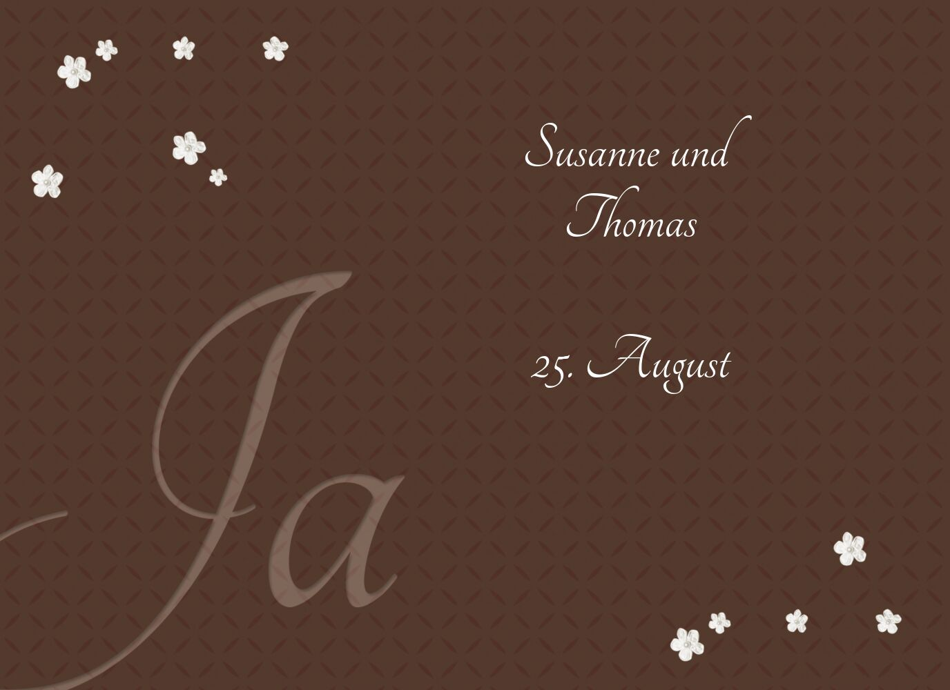 Ansicht 4 - Hochzeit Einladung romantic flower