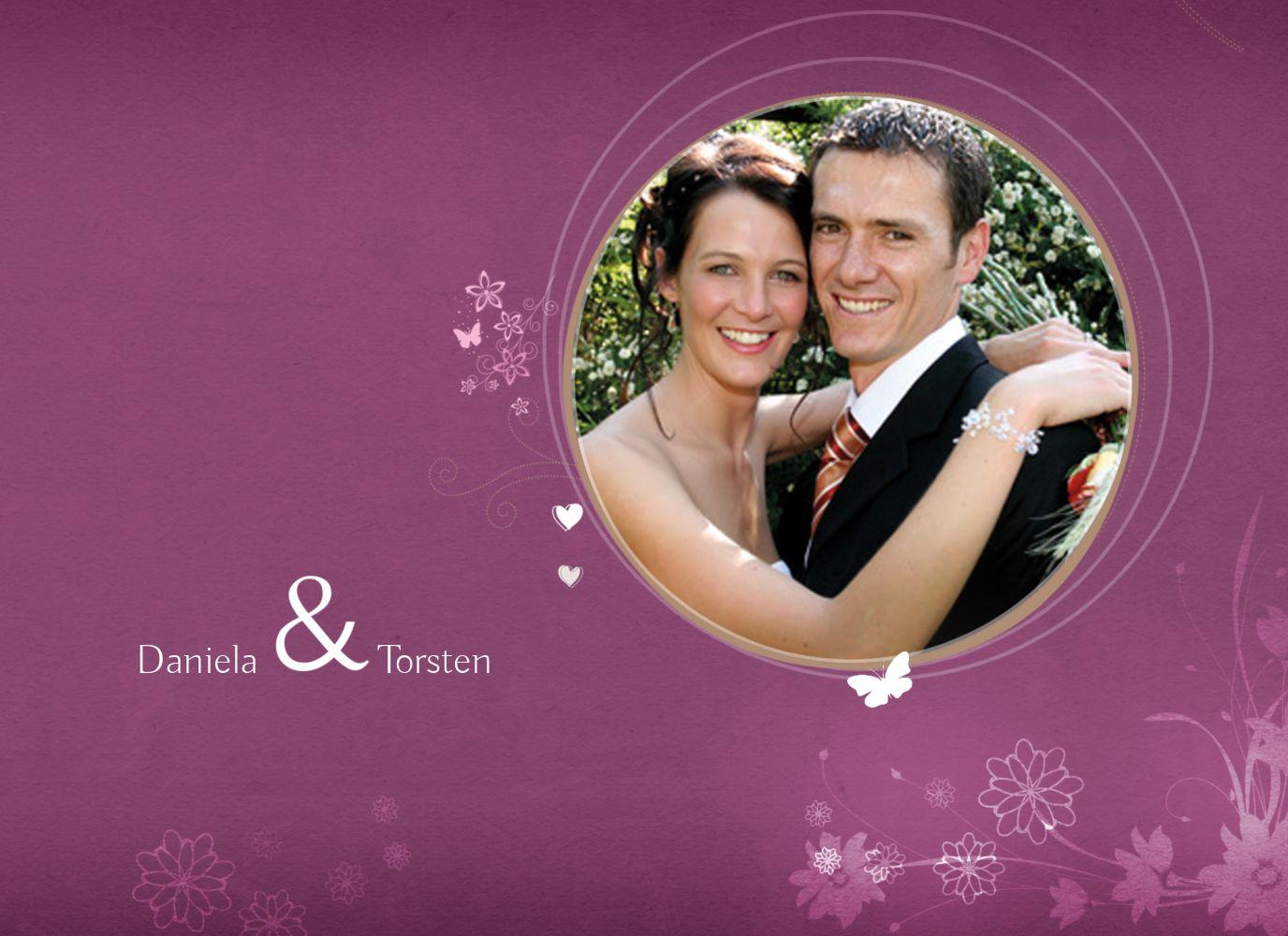 Ansicht 3 - Hochzeit Danke 3 Liebeserfüllung