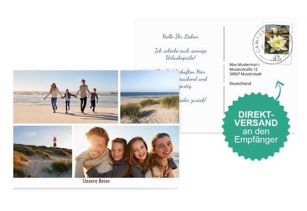 Fotopostkarte Mixed