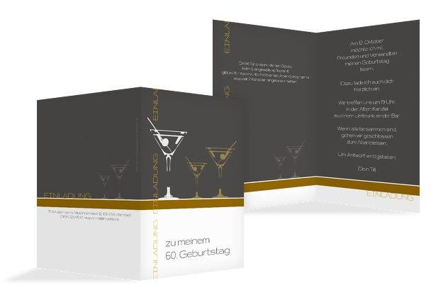 Einladungskarten Martini