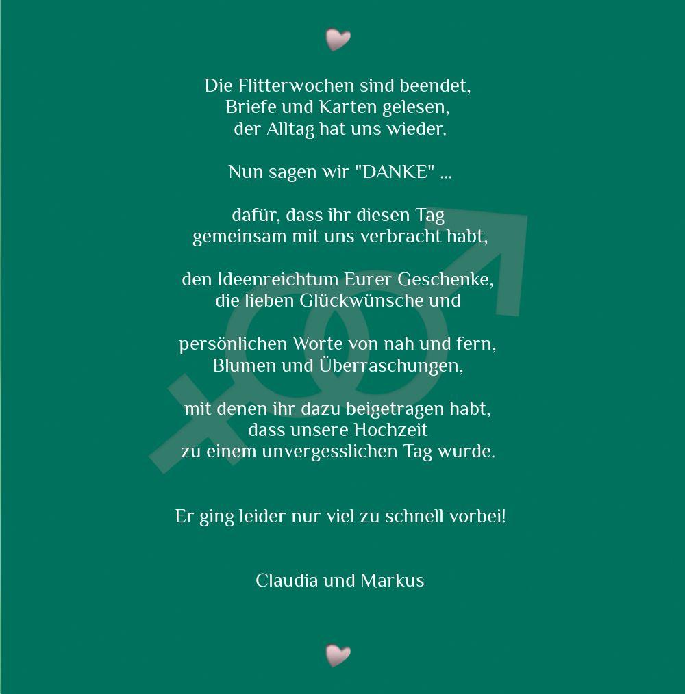 Ansicht 5 - Dankeskarte Im Zeichen der Liebe