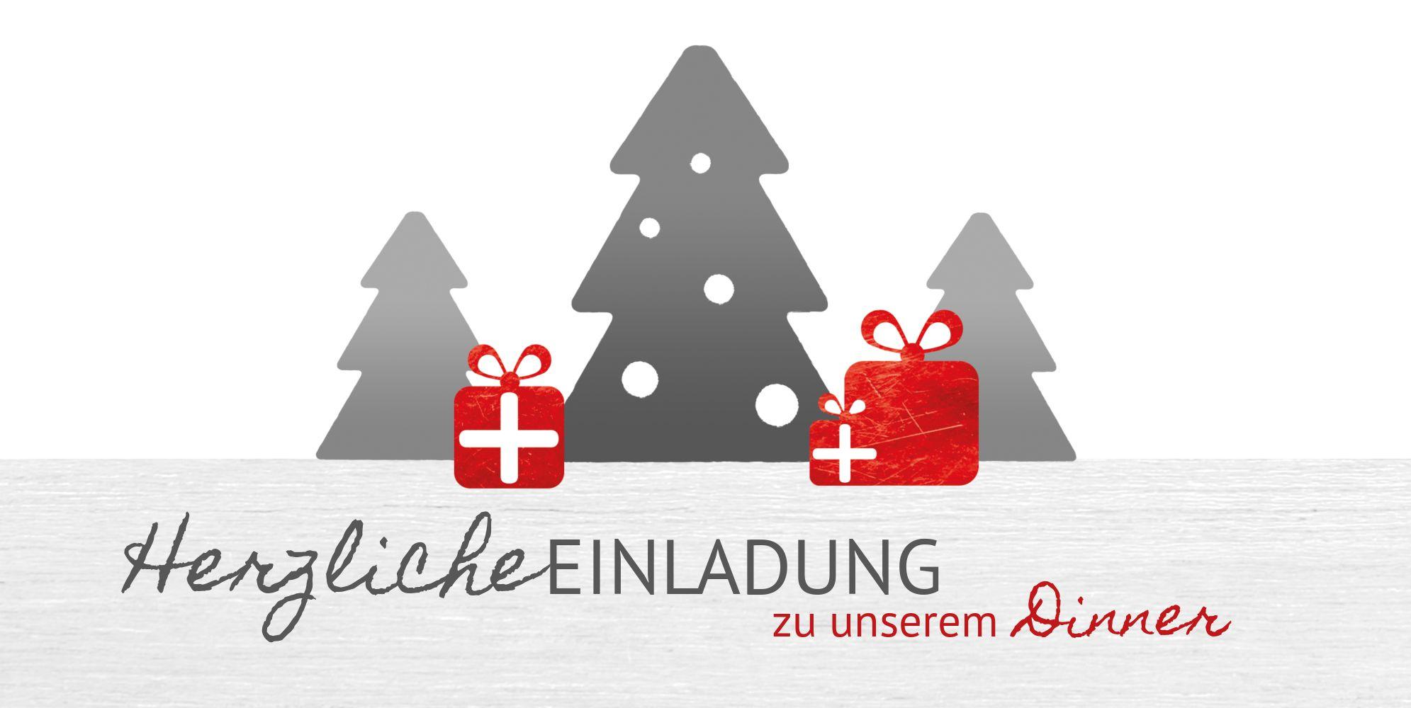 Ansicht 3 - Weihnachtseinladung Geschenkebaum