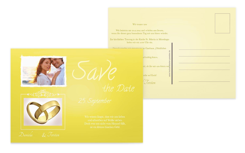 Save-the-Date Din Ringetausch