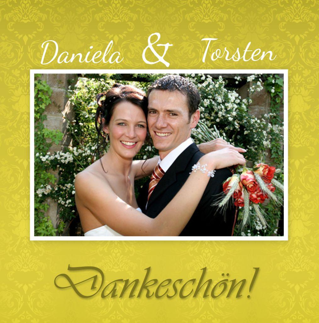Ansicht 4 - Hochzeit Danke Eheversprechen