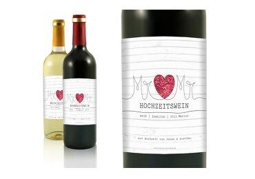 Flaschenetiketten Mr&Mr