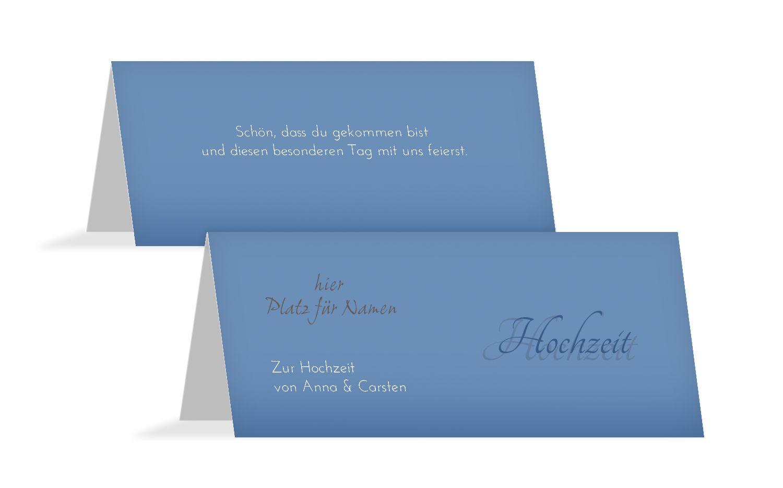 Hochzeit Tischkarte 3 Liebesmoment