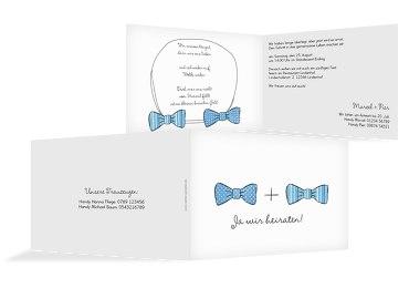 Hochzeit Einladung Fliegen