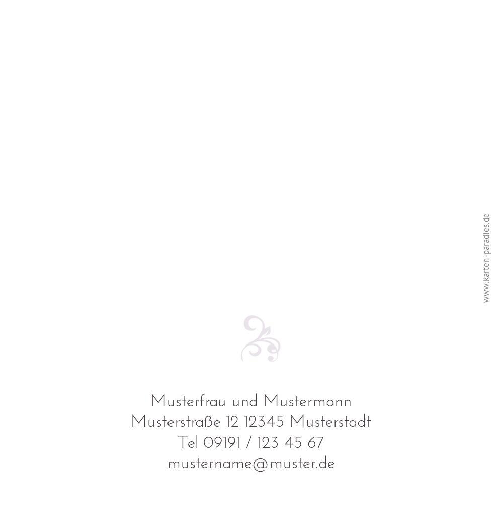 Ansicht 3 - Hochzeit Einladung Ranke