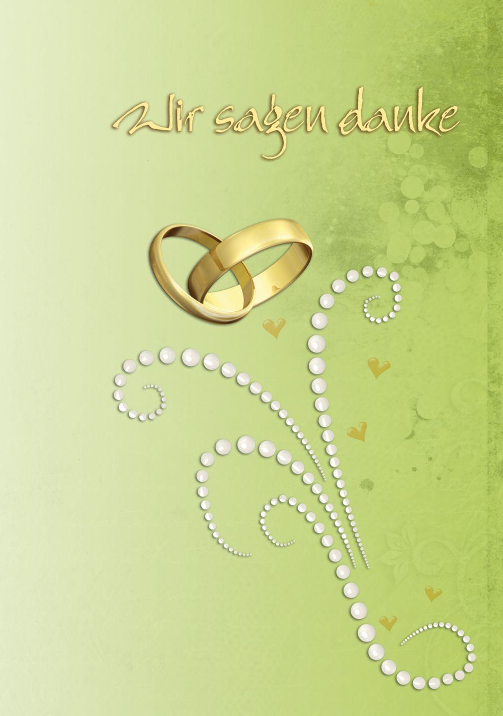 Ansicht 3 - Hochzeit Danke Eheringe Perlen