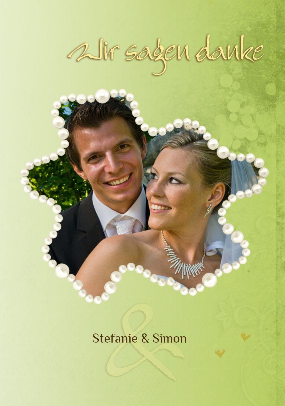 Ansicht 5 - Hochzeit Danke Eheringe Perlen