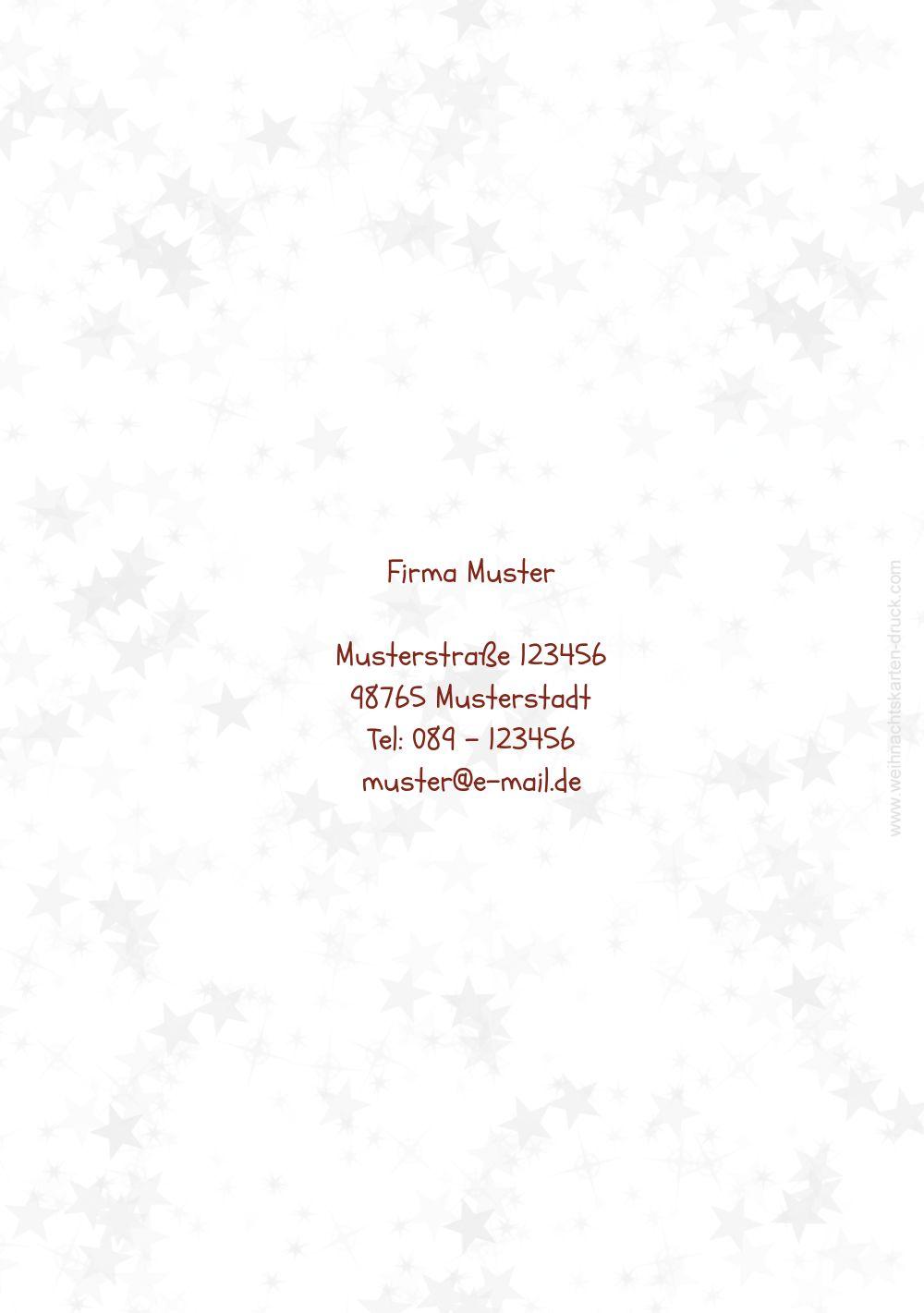 Ansicht 2 - Grußkarte Schriftkugel