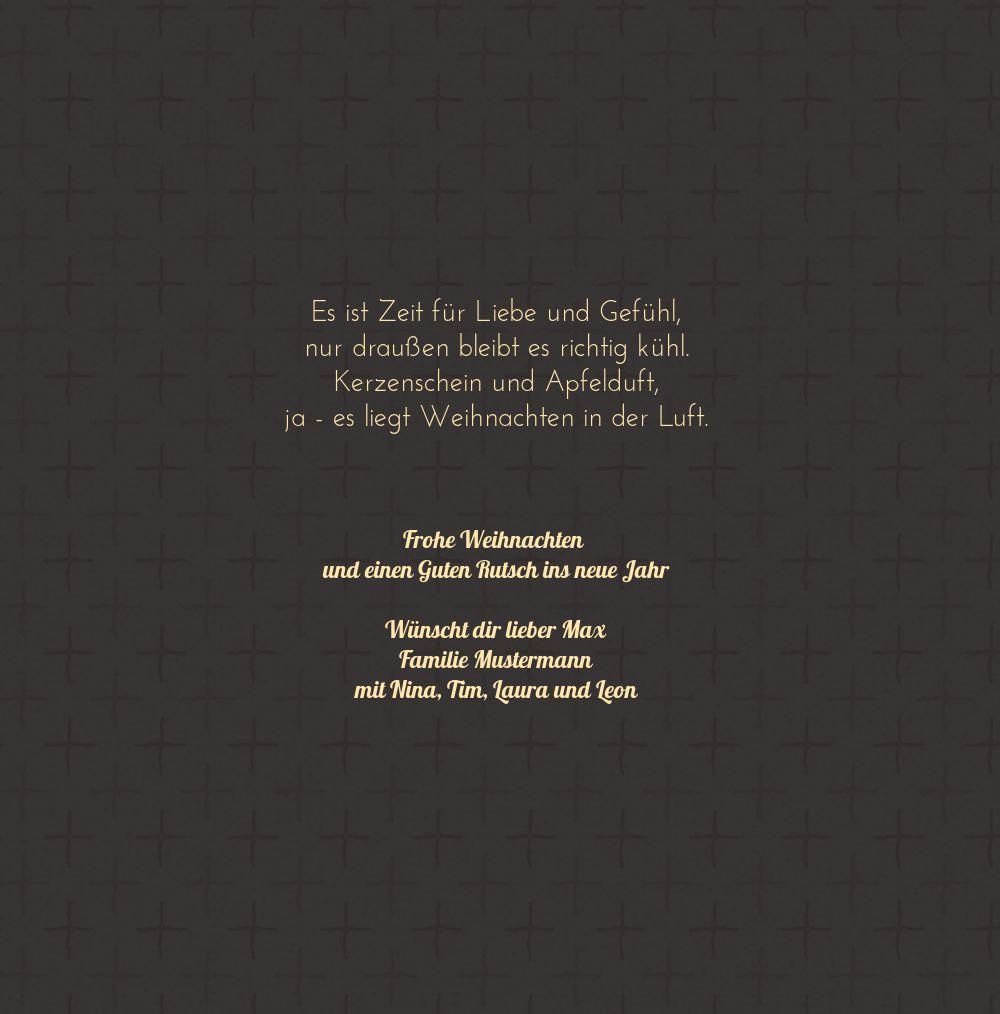 Ansicht 5 - Foto Grußkarte Schriftkerze
