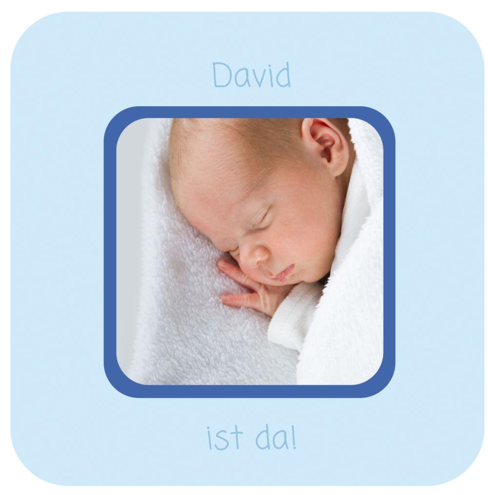 Ansicht 4 - Babykarte Kästchen