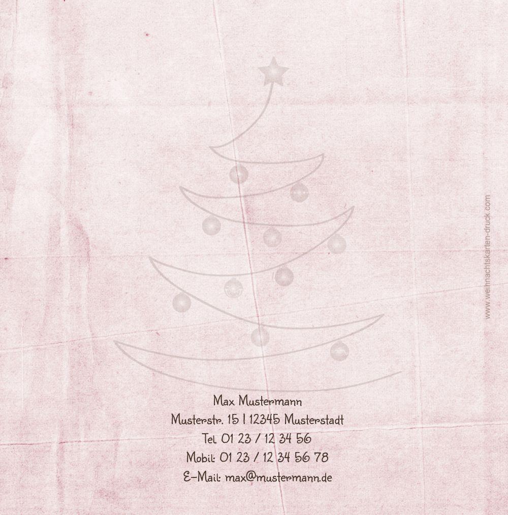 Ansicht 2 - Grußkarte Weihnachtsbaum