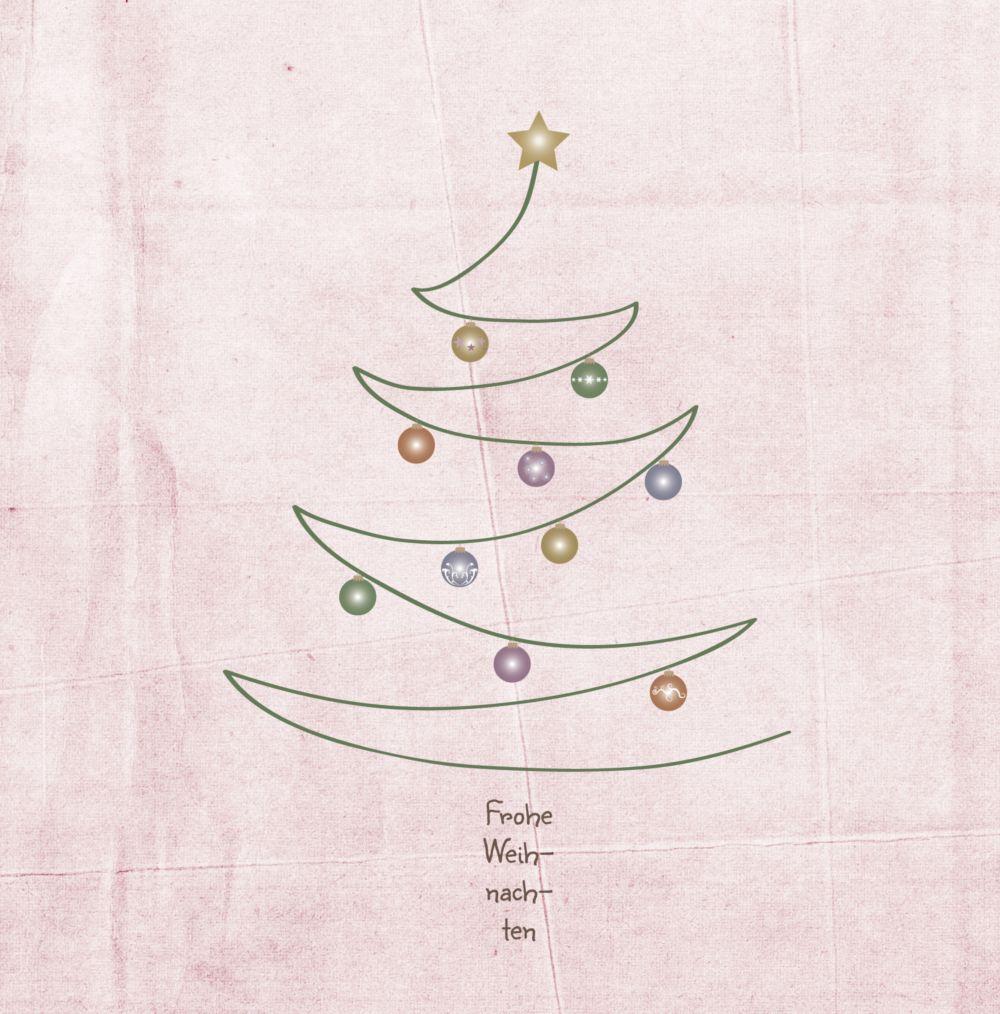 Ansicht 4 - Grußkarte Weihnachtsbaum