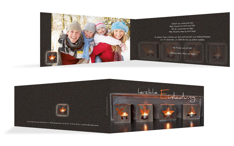 Foto Einladung Adventszeit