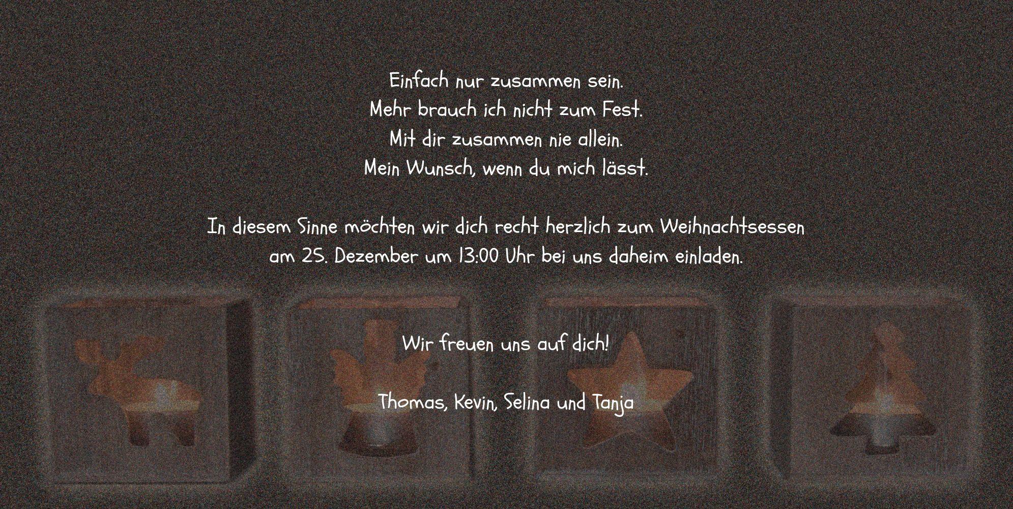 Ansicht 5 - Foto Einladung Adventszeit