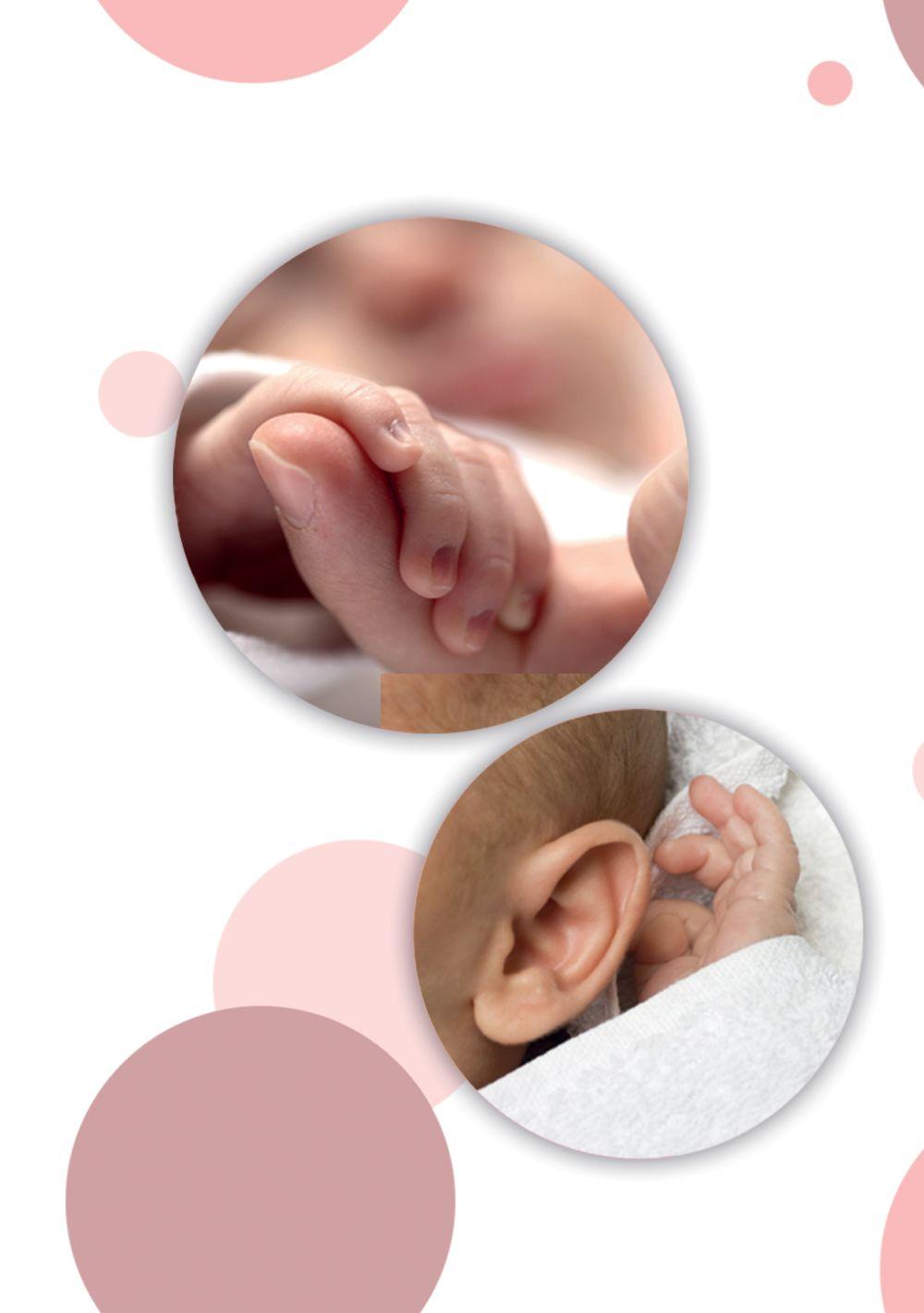 Ansicht 4 - Babykarte Kleckse