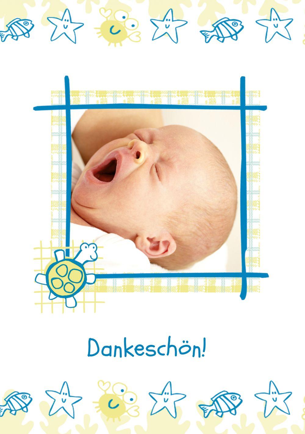 Ansicht 3 - Baby Dankeskarte Smart