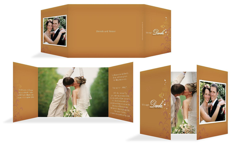 Hochzeit Danke 3 Glücksgriff